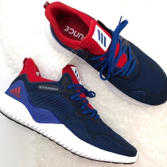 online store 3e8b1 0ec46 NWT Adidas Alphabounce Beyond NCAA Sneaker SZ 12.5